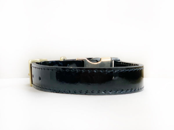 Black Patent Style-Release Collar™