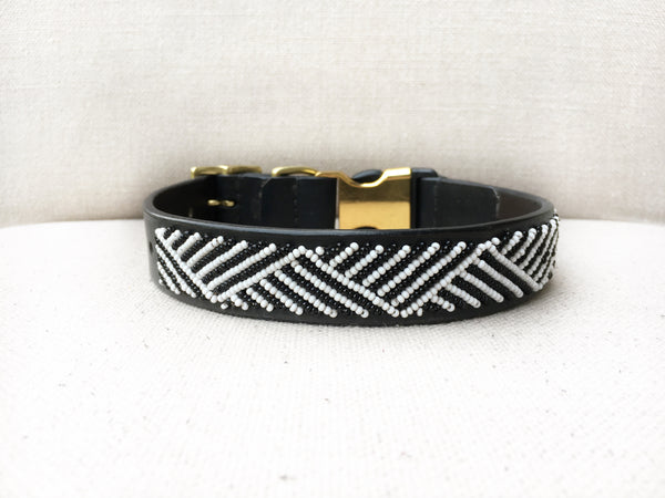 MANHATTAN STYLE-RELEASE DOG COLLAR