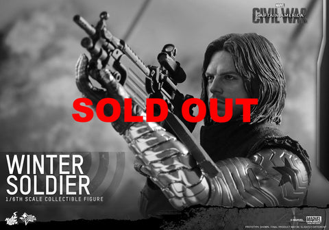 Hot Toys MMS351 Winter Soldier - Civil War