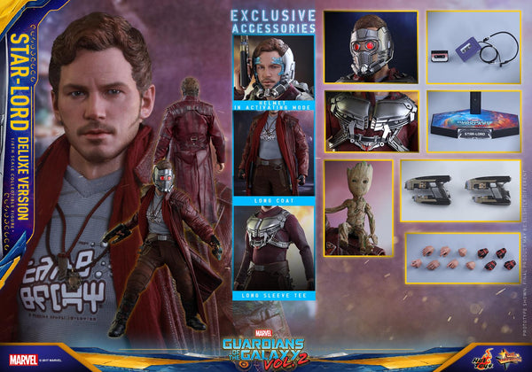 Hot Toys MMS421 Star Lord Deluxe