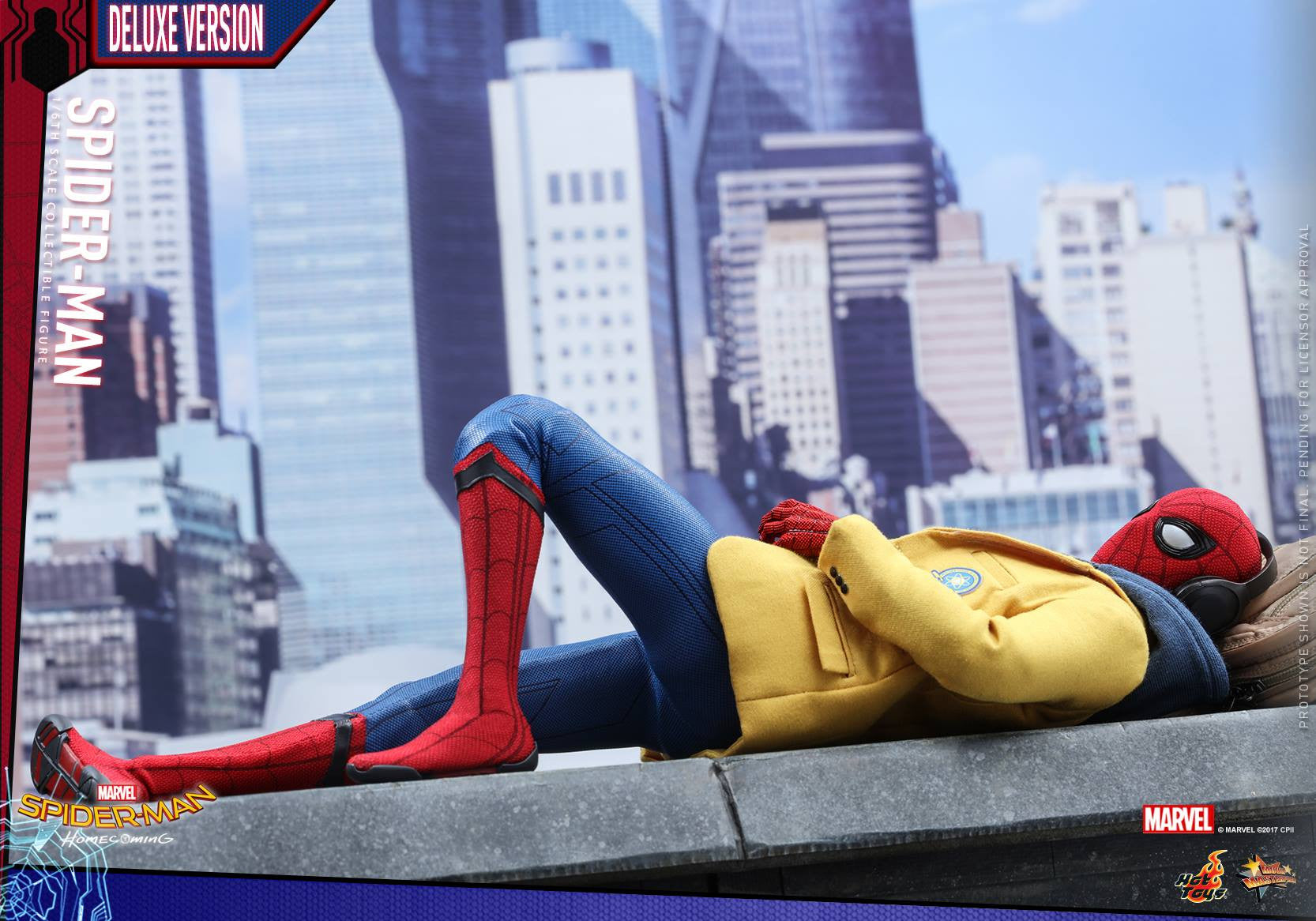 Hot Toys Spider-man: Homecoming (Deluxe Version)