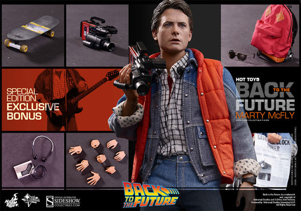 Hot Toys MMS257 Back To The Future Marty McFly EXCLUSIVE
