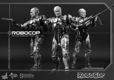 Hot toys RoboCop (Battle Damaged Version) & Alex Murphy