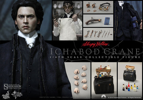 Hot Toys Ichabod Crane Sleepy Hollow
