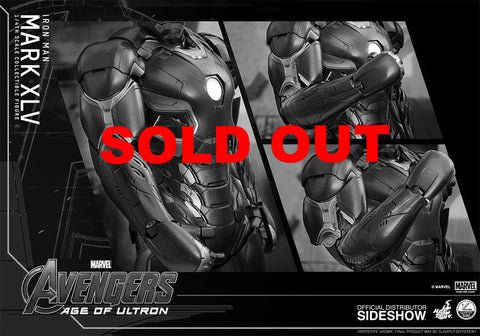 Hot Toys QS006 1/4 Age Of Ultron - Iron Man Mark XLV