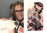 Mondo Back to the Future Part II Signed Lea Thompson