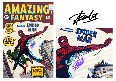 Stan Lee SIGNED Spider-man comic (1962) Comic