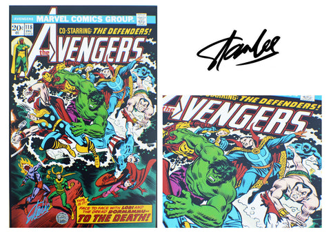 Stan Lee SIGNED The Avengers #118 Comic