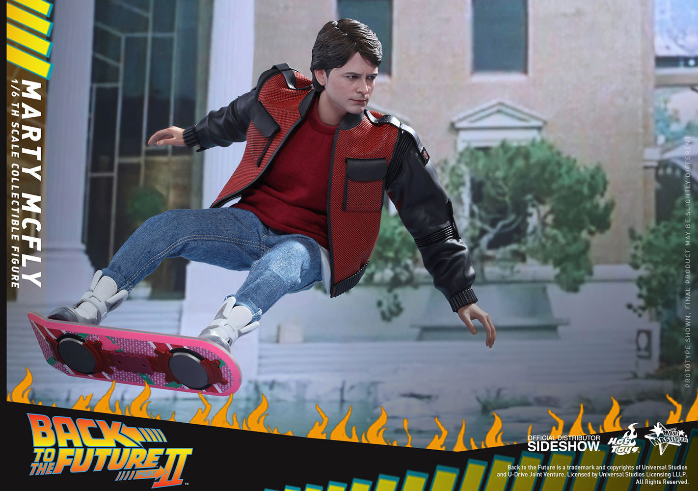 Hot Toys Back To The Future II Marty McFly EXLUSIVE VERSION