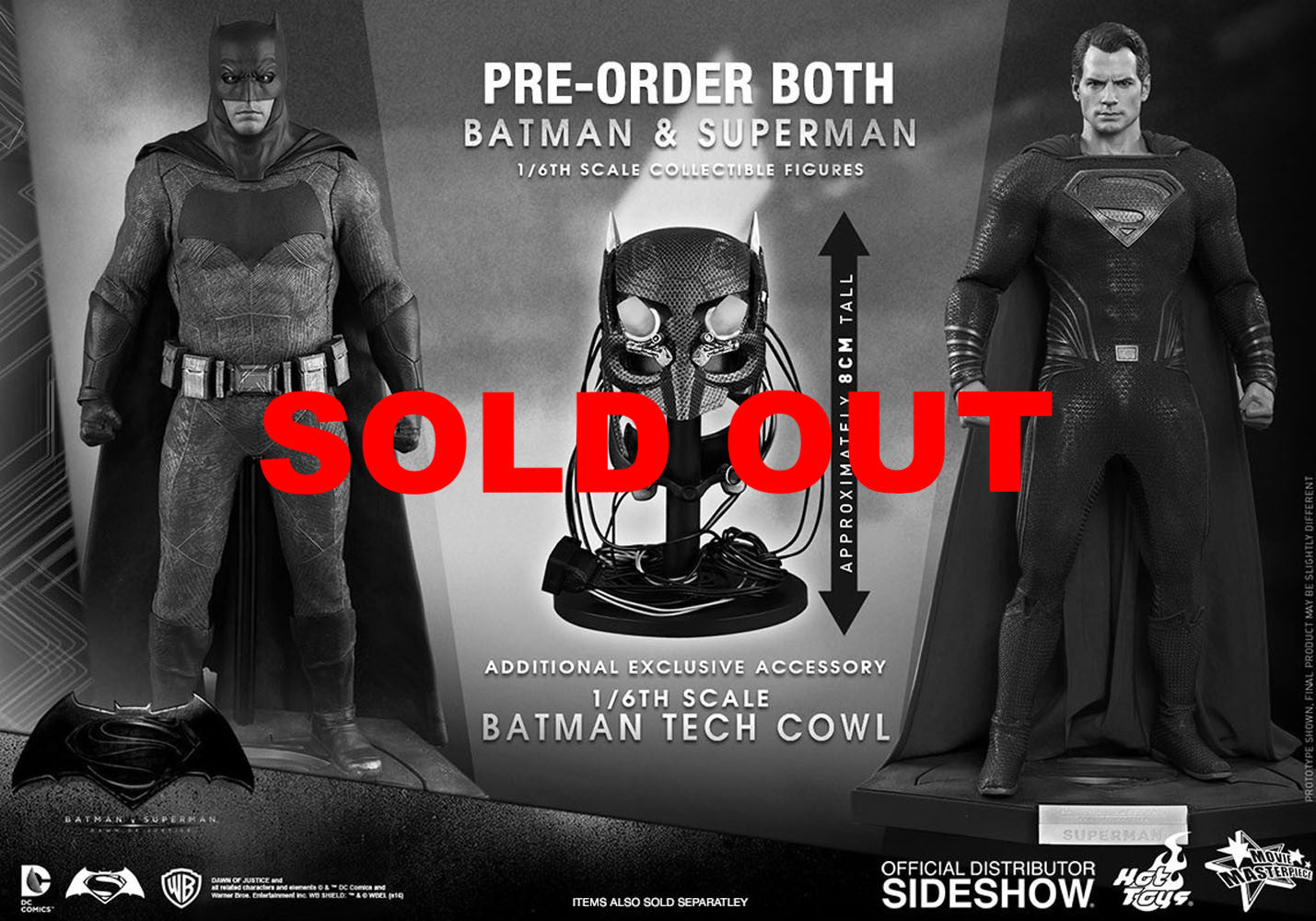 Hot toys BVS MMS Exclusive Set