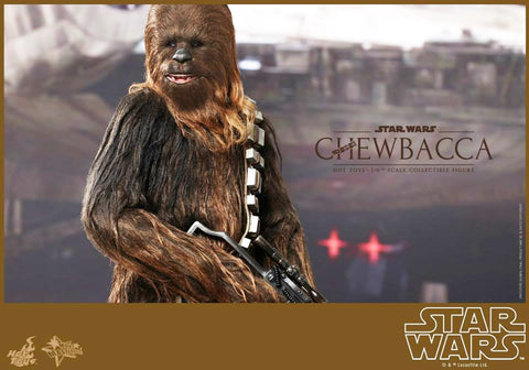 Hot toys MMS262 Chewbacca AUTOGRAPHED
