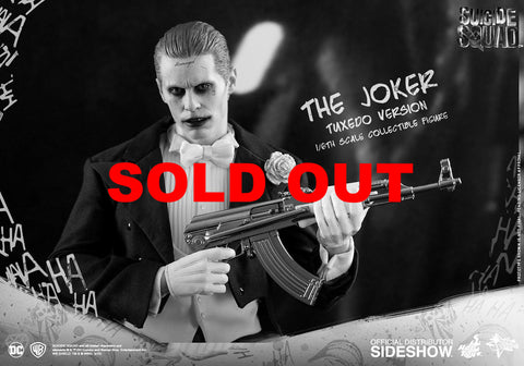 THIS IS A PRE-ORDERHot toys Joker (Tuxedo Version) Sixth Scale Figure s... click for more information