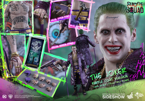 THIS IS A PRE-ORDERHot Toys Joker (Purple Coat Version) Sixth Scale Co... click for more information