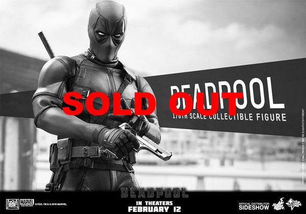 Hot Toys MMS347 Deadpool