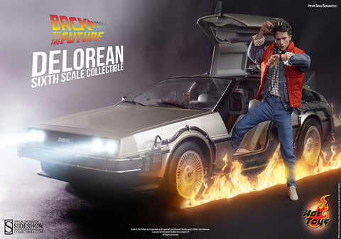Hot toys MMS260 DeLorean Time Machine Car