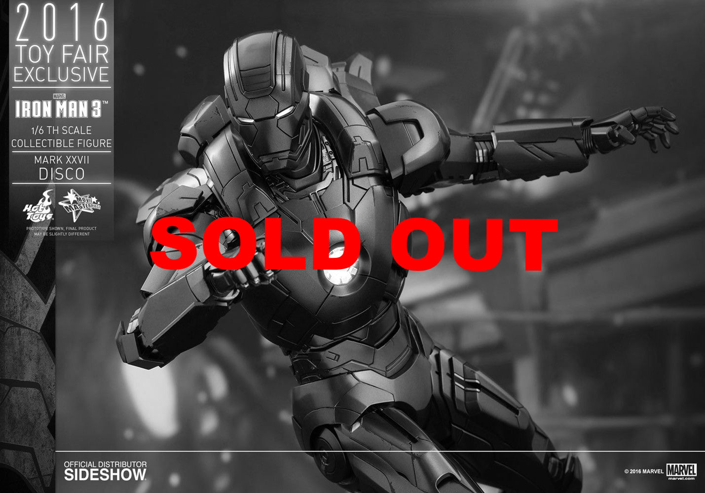 Hot toys Iron Man Mark XXVII Disco EXCLUSIVE