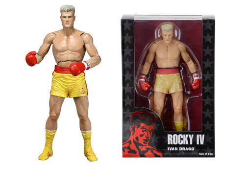 NECA Rocky 40th Anniversary Figure Series 2 - Drago RED Trunks
