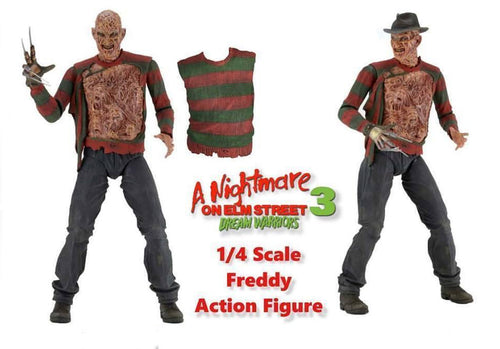 NECA NIGHTMARE ON ELM STREET 3 DREAM WARRIORS FREDDY KRUEGER