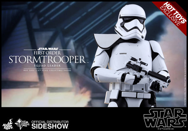 Hot Toys First Order Storm trooper (Squad Leader) EXCLUSIVE