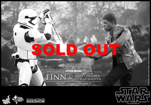 Hot Toys - Finn And First Order - Star Wars