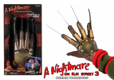Neca Freddy Krueger Glove Replica Nightmare on Elm Street