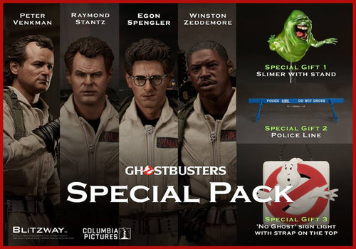 Blitzway Ghostbusters - Special Edition Set