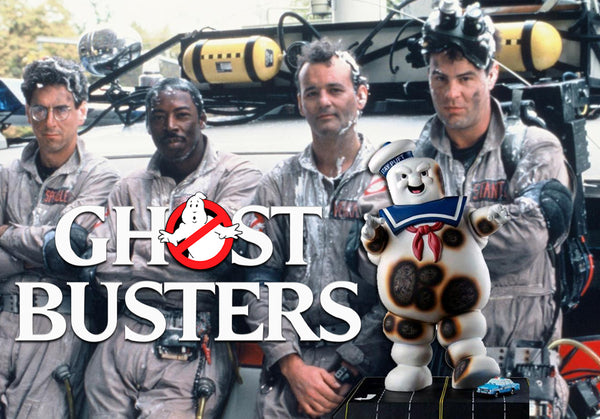 IKON Ghostbusters Statue Stay Puft Burnt Variant
