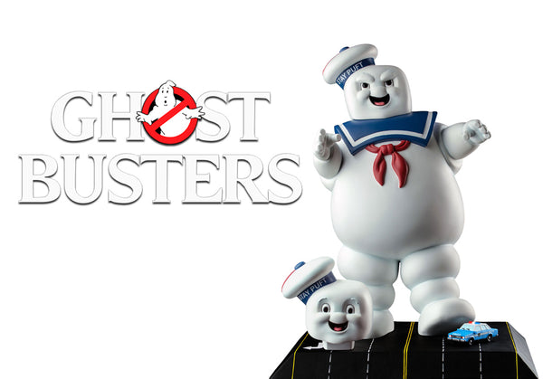 IKON Ghostbusters Statue Stay Puft