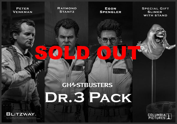 Blitzway Ghostbusters - Dr. 3 Pack