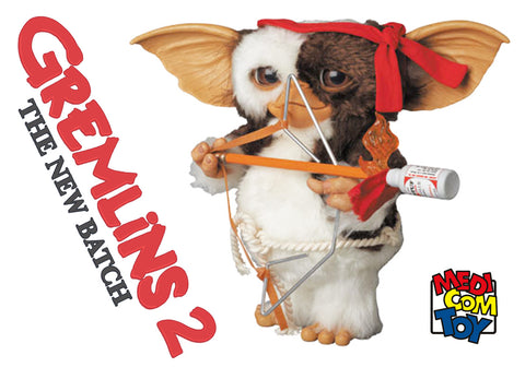 Gizmo Life-Size Gremlins 2 Rambo Prop Replica