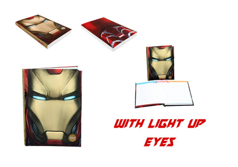 Captain America Civil War Notebook Light Up Iron Man Face