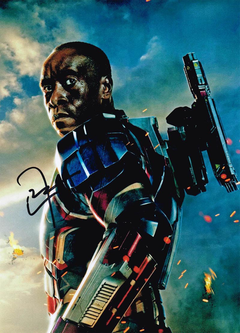 Don Cheadle Signed