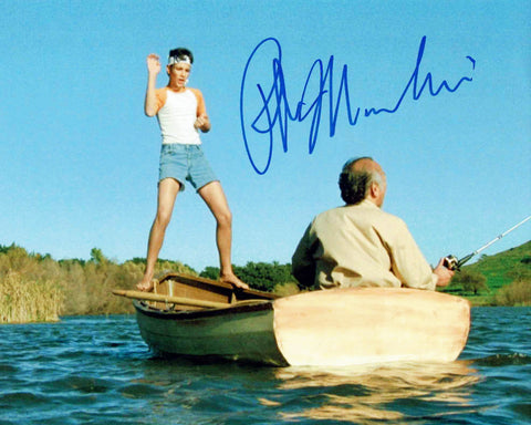 Karate Kid Ralph Macchio Daniel LaRrusso Signed Photo