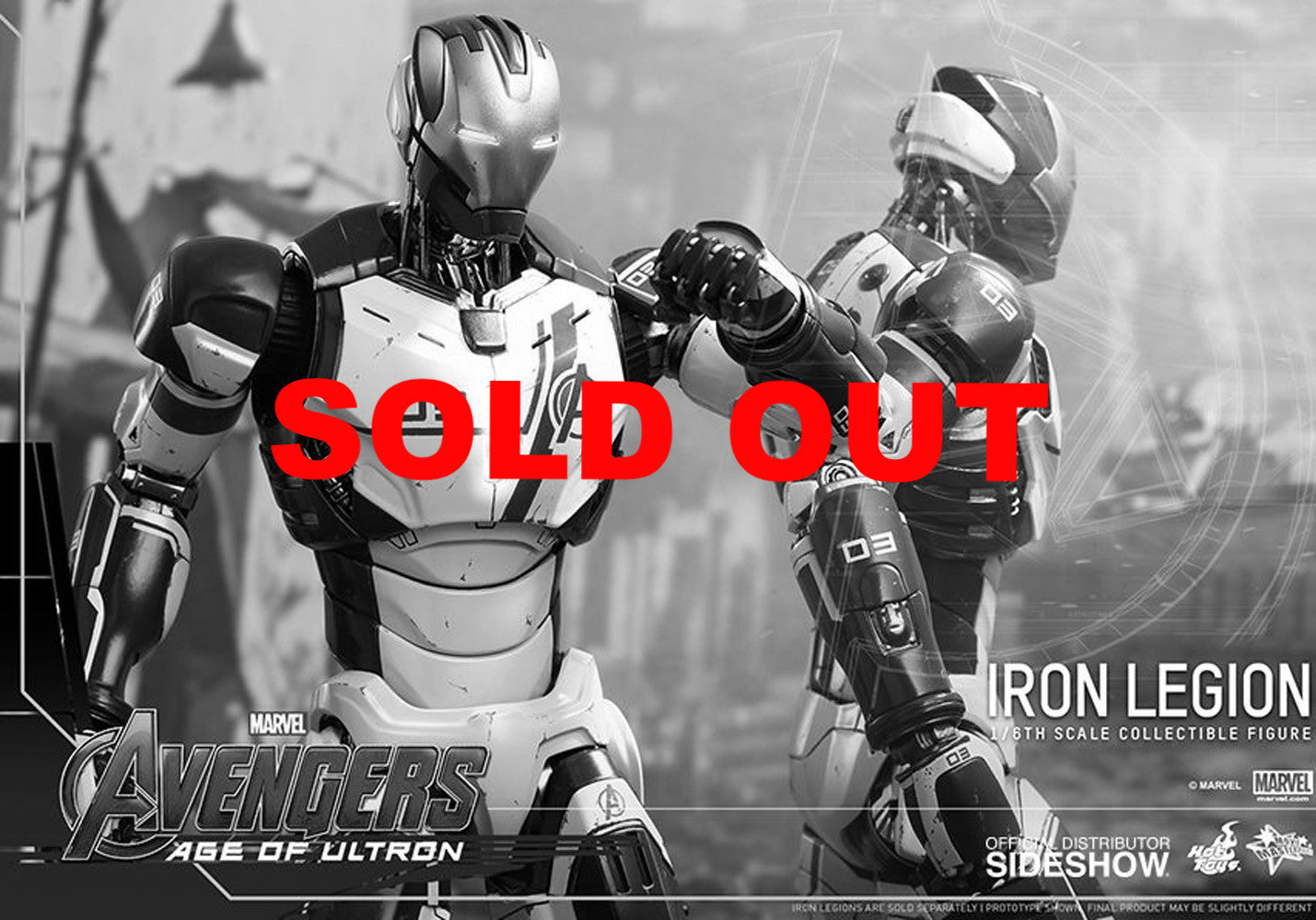 Hot Toys MMS299 - Avengers: Age Of Ultron - Iron Legion