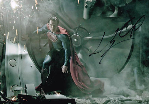 Henry Cavill Signed Photo Man of Steel