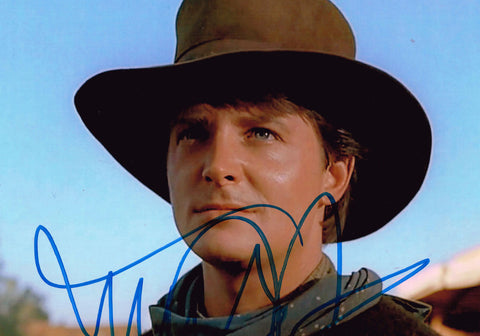 Michael J Fox Signed Photo Back to the Future 3
