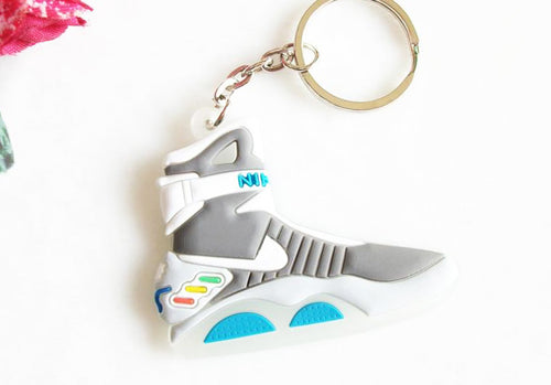 Mini Silicone Back To The Future II Glow In The Dark Air Mag Keychain