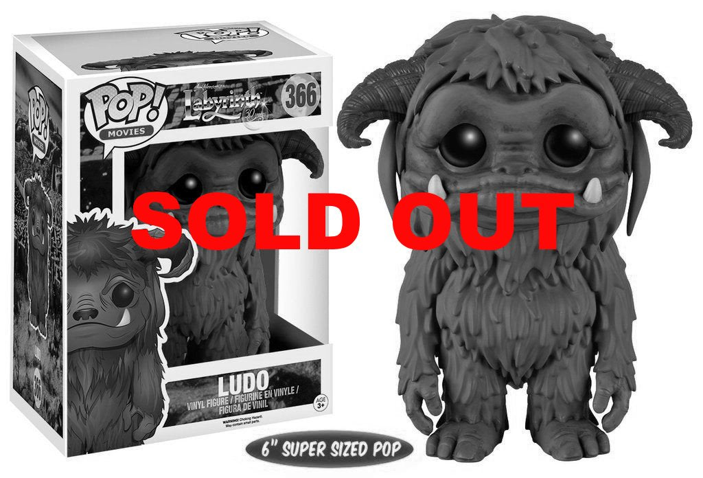 Funko POP LABYRINTH - LUDO VINYL FIGURE #364