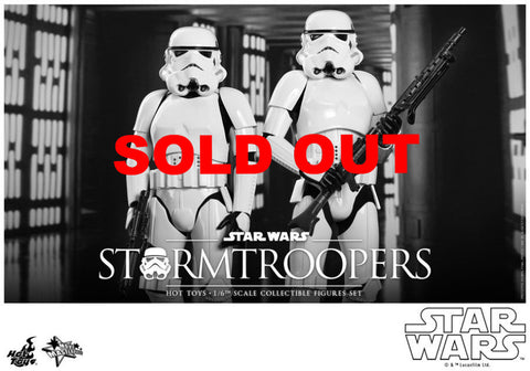 Hot Toys New Hope Storm Trooper 2 pack set