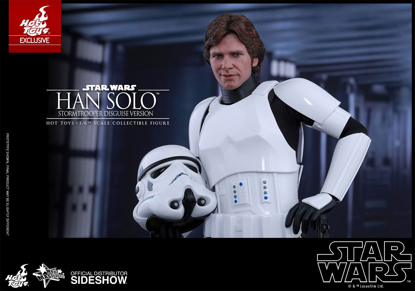 Hot toys Han Solo (Stormtrooper Disguise Version)