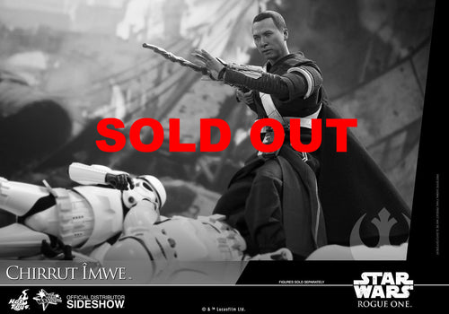 Hot Toys Chirrut Îmwe (Deluxe Version) Star Wars Rogue One
