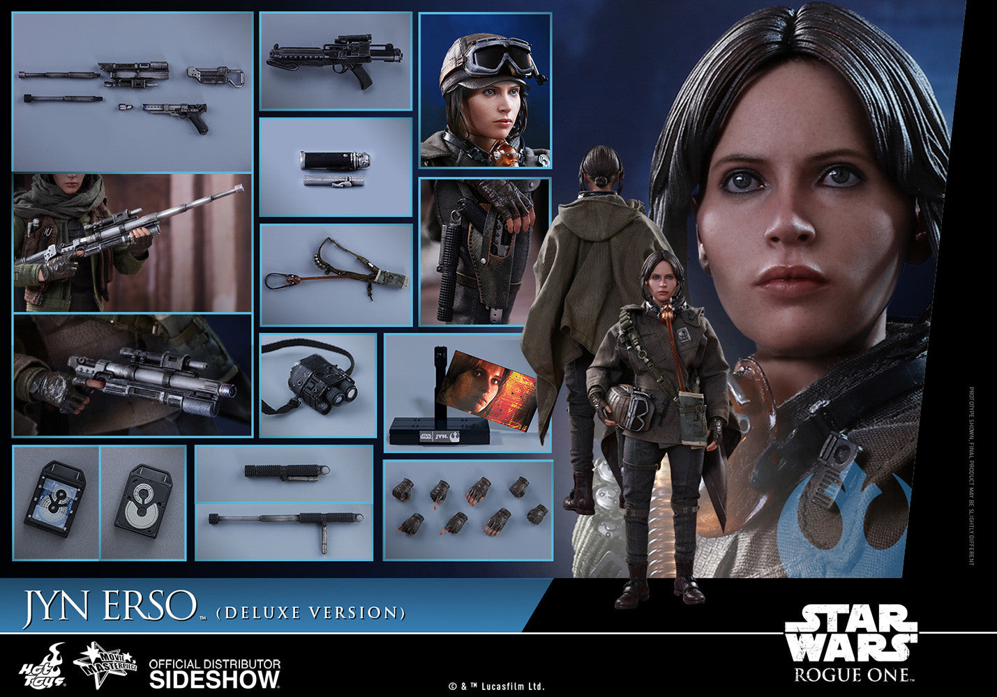 Hot toys Jyn Erso (Deluxe Version)