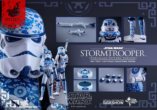 Hot Toys Stormtrooper (Porcelain Pattern Version)