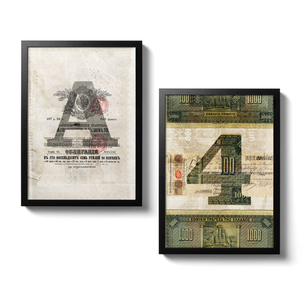 2 Ephemera Posters - 30x40 - MR CUP