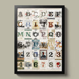 Alphabet - Poster - 30x40 - MR CUP