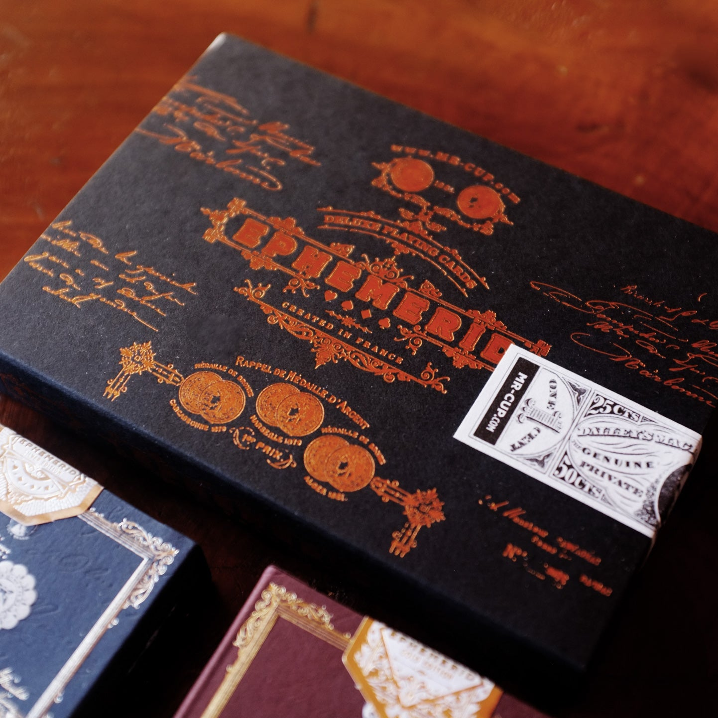 EPHEMERID - 2 Decks with COPPER Hot foil sleeve