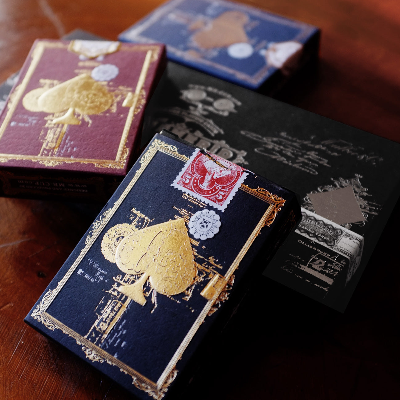 EPHEMERID - 3 Decks with SILVER Hot foil sleeve