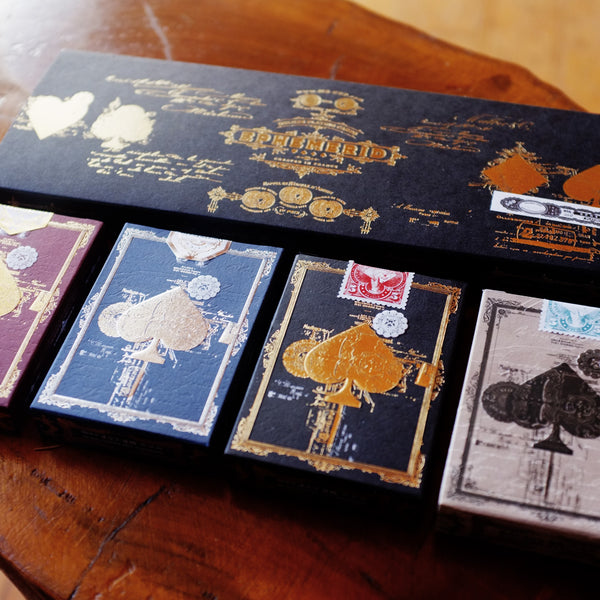 EPHEMERID - 4 Decks with GOLD Hot foil sleeve