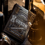 HUDSON BLACK playing cards deck - MR CUP