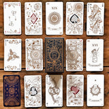 80 cards Illustrated Tarot Game M&S - MR CUP
